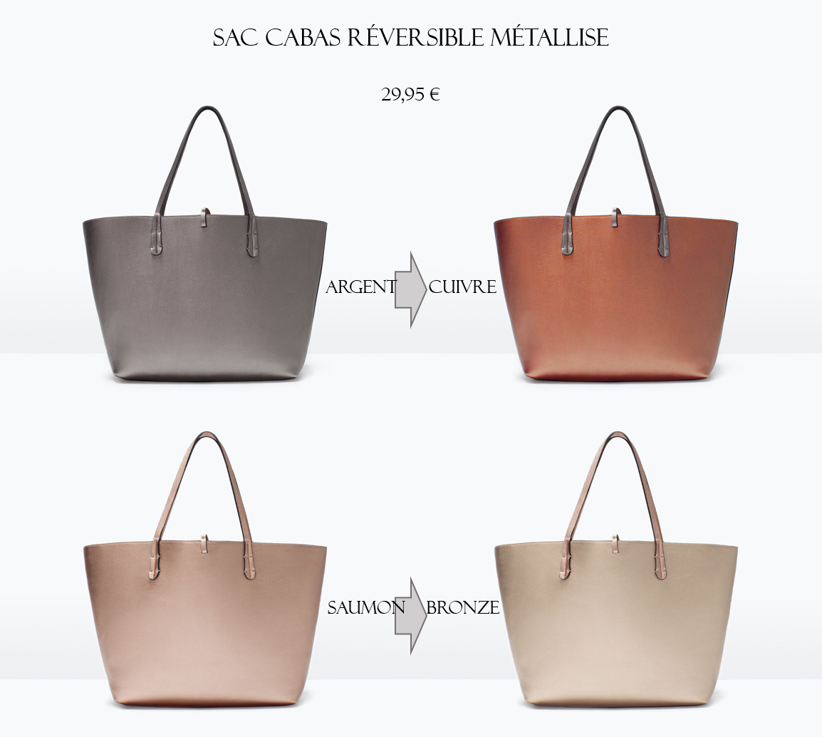 En Zara Vie Printempseté 2015Ma Mode Coeur – Coup De Sacs Les Rc34Ajq5L